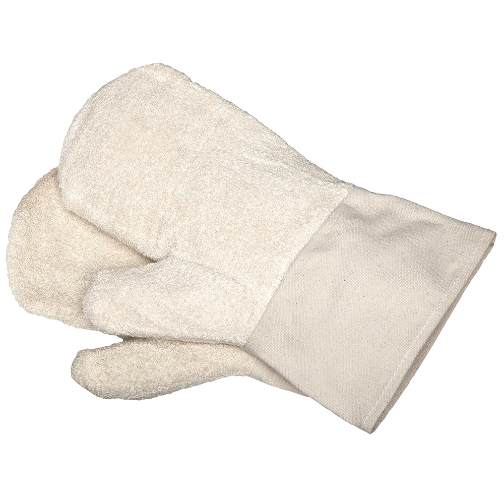 Backhandschuhe aus Baumwolle - mit Stulpe 8502