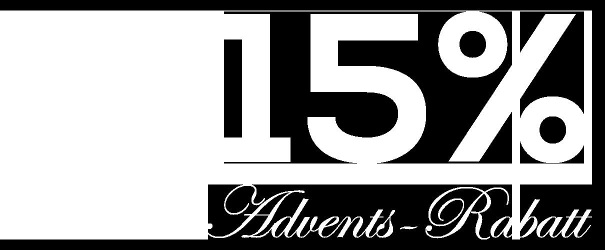 Adventsrabatt